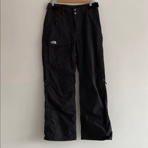 The North Face black medium women's snow pants